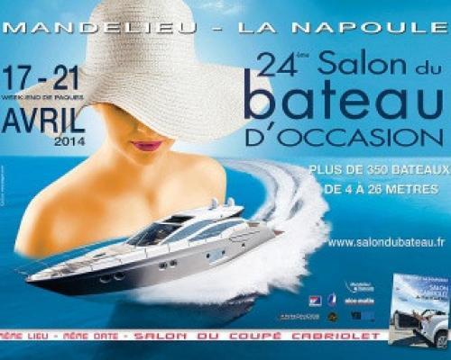 Salon du bateau d'occasion de Mandelieu avril 2014