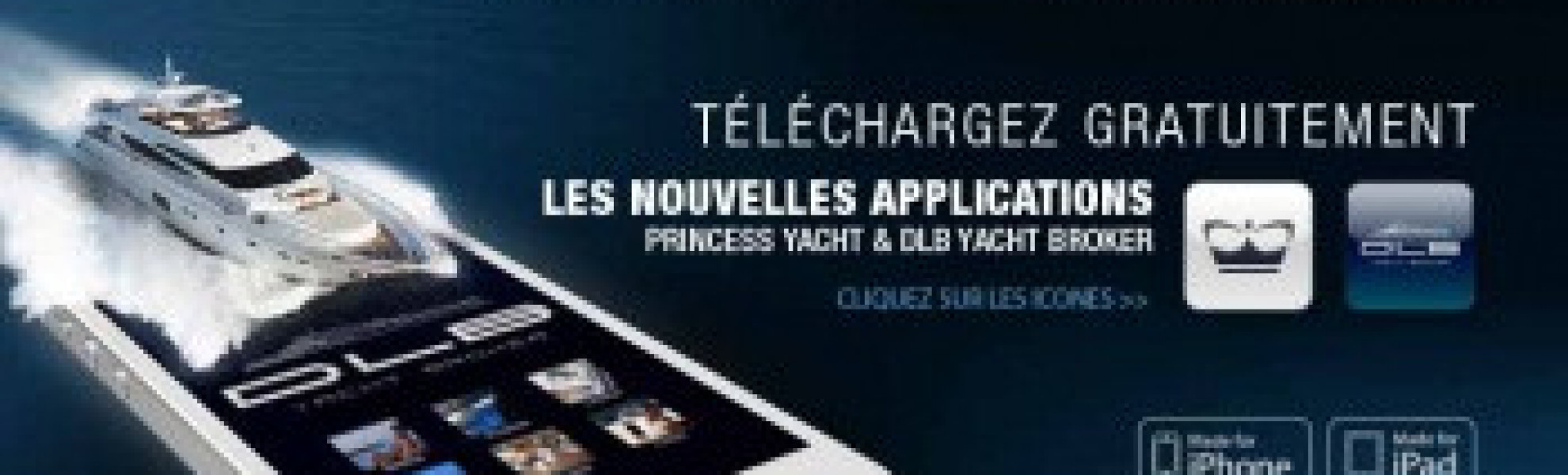 Application iPhone - DLB Yacht Broker - Princess